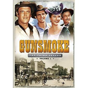 Gunsmoke - Gunsmoke: Third Season Volume 1 [DVD] USA import