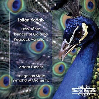 Z. Kodaly - Zolt N Kod Ly: H Ry J Nos; Dances of Gal Nta; Peacock Variations [CD] USA import