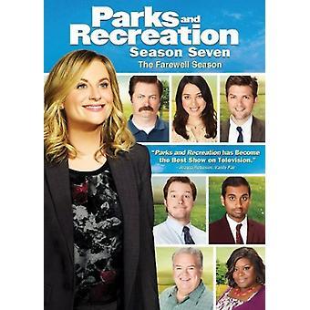 Parks & Recreation: Season Seven - Farewell Ssn [DVD] USA import