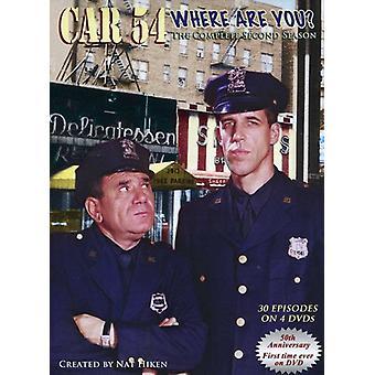 Bil 54 var är du?: säsong 2 [DVD] USA import