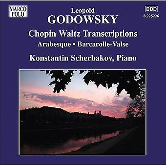 L. Godowsky - Leopold Godowsky: Chopin Waltz Transcriptions [CD] USA import