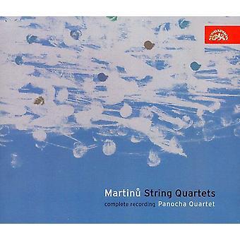 B. Martinu - Martinu: Importación de USA de cuartetos de cuerda completos [CD]