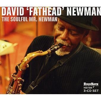 David 'Bredhovedet' Newman - sjælfuld Mr.Newman [CD] USA import