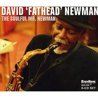 David 'Fathead' Newman - Soulful Mr.Newman [CD] USA import