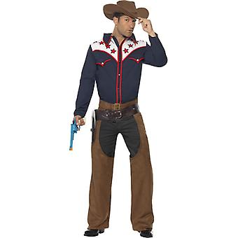 Rodeo costume Cowboy Western Rodeo costume 3-piece men's