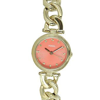 Fossil ladies watch of ladies gold ES3575