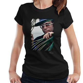 Elton John Peeping Signet Ring Women's T-Shirt