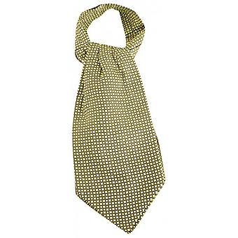 Knightsbridge Neckwear Squares Silk Cravat - Lime Green