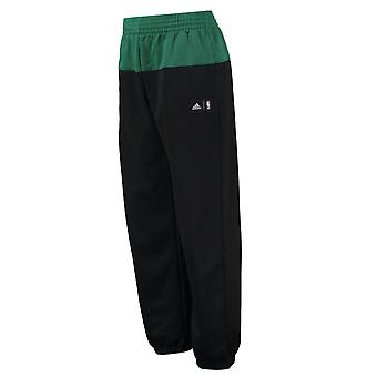 ADIDAS Boston Celtics Fresh Fan Fleece Pant [Black/Green]
