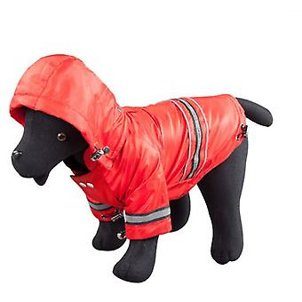 Arppe Larry Red anorak (Dogs , Dog Clothes , Coats and capes)