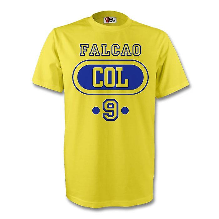 James Rodriguez Colombia Col T-shirt (gul) - Barn