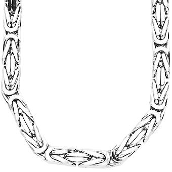 Sterling 925 Silver King chain - DOTTE 8x8mm