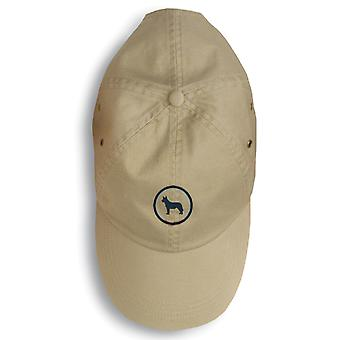 Carolines Treasures  156-1110-KHBL Australian Cattle Dog Baseball Cap 156-1110