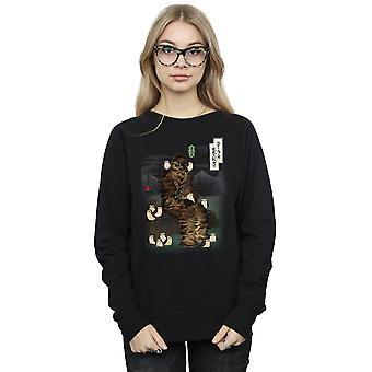 Star Wars vrouwen de laatste Jedi Japanse Chewbacca Porgs Sweatshirt