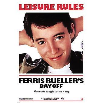 Ferris Buellers ledig dag film affisch affisch Skriv