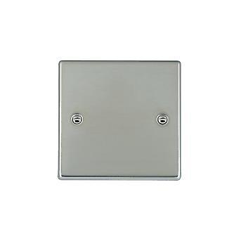 Hamilton Litestat Hartland Bright Stainless Chrome Single Blank Plate
