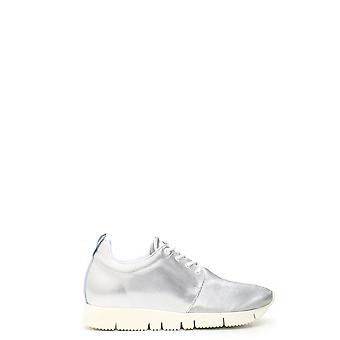 Leather Crown women's MCBI185009O silver leather of sneakers