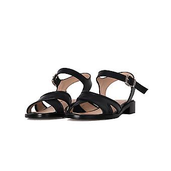 Franca ladies 9952 Blau LEDER sandals