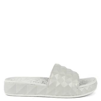Ash Footwear Splash Silver Studded Slider