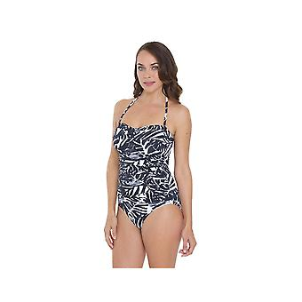 Seaspray SY007040 Women's Black/White Motif Costume One Piece Swimsuit