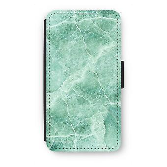 Samsung Galaxy A5 (2015) Flip Case - grünem Marmor