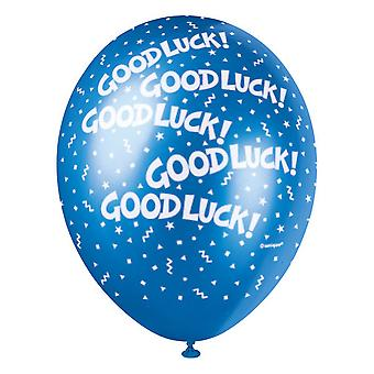 Unique Party 12 Inch Good Luck Balloon (Pack Of 5)
