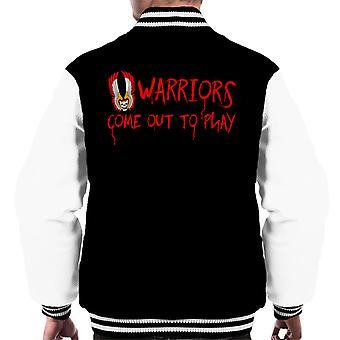 The Warriors Movie Quote Men's Varsity Jacket