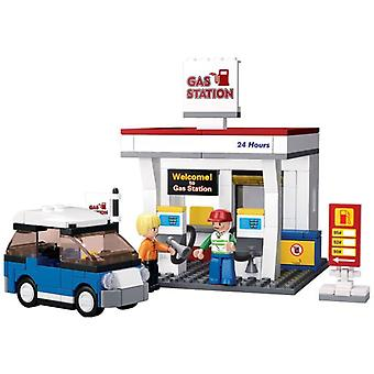 Sluban Town Service Station 167 Pieces