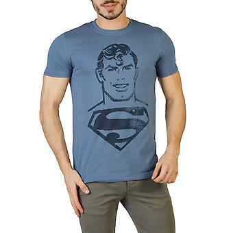 DC Comics Men T-shirts Blue
