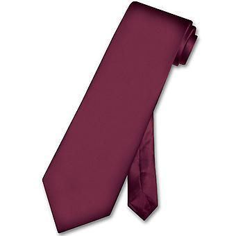 Biagio 100% SILK NeckTie EXTRA LONG Solid Men's Neck Tie