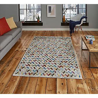 16th Avenue 36A Multi  Rectangle Rugs Funky Rugs