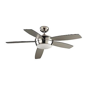 Ceiling Fan Light Samal Nickel 132cm / 52