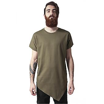 Urban classics T-Shirt asymetric long tea