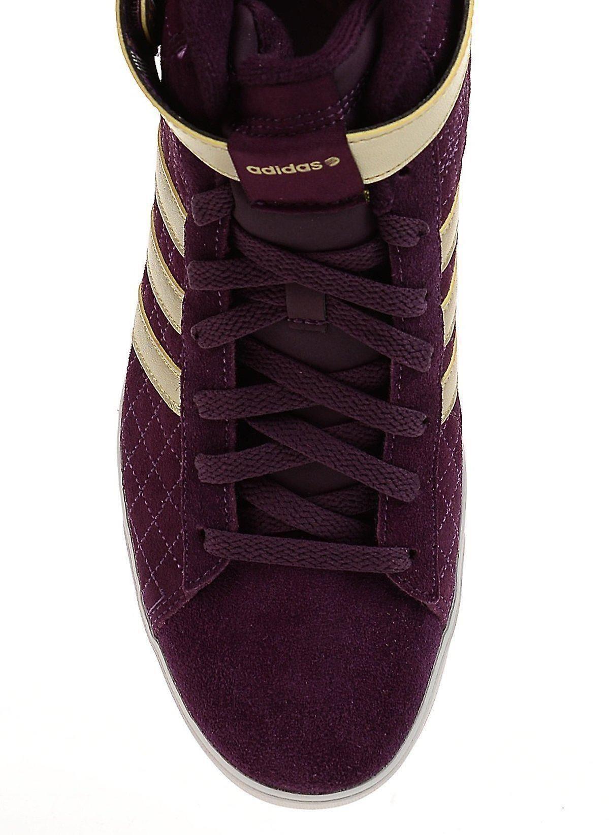 adidas Women's Daily Twist Mid W Trainers Merlot F98631 UK6/EU 39 1/3