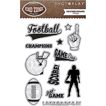 End Zone Polymer Stamps