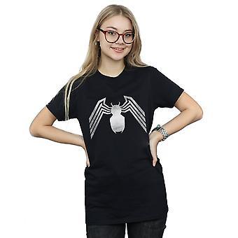 Bewundern Sie die Venom Logo Emblem Freund Fit Frauenunterhemde