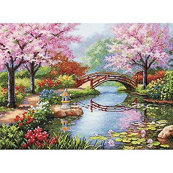 Gold Collection Japanese Garden Counted Cross Stitch Kit-16