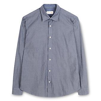 Fabio Giovanni Loseto Shirt - Mens Italian Casual Stylish Shirt 100% Cotton - Long Sleeve