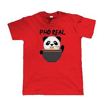 Pho Real Panda, heren T Shirt | Gast kunstenaar JG