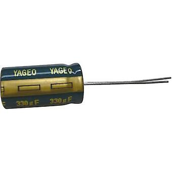 Yageo SY035M2200B7F-1632 Electrolytic capacitor Radial lead 7.5 mm 2200 µF 35 V 20 % (Ø x H) 16 mm x 32 mm 1 pc(s)