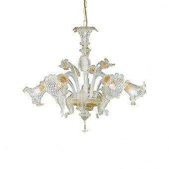 Ideal Lux Rialto 5 Bulb Pendelleuchte Light Ambra
