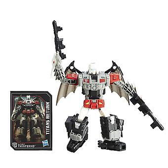 Trasformatori generazioni Titans restituire Autobot Twinferno e Daburu