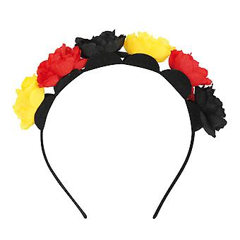 Hårband fläkt blommor Tyskland