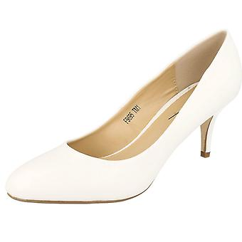 Ladies Anne Michelle Mid Heel Court Shoes