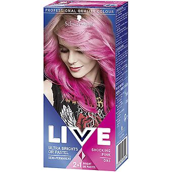 Schwarzkopf Live Ultra Brights Or Pastel-Shocking Pink 93