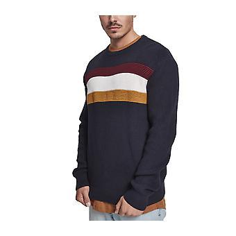 Urban classics - block crewneck sweater pullover
