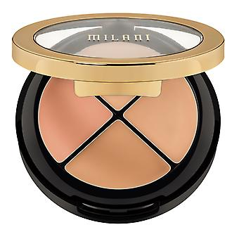 Milani verbergen + Perfect all-in-een Concealer Kit-02 licht tot Medium