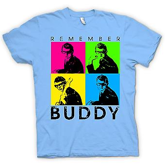 Barn T-shirt - Buddy Holly kom ihåg