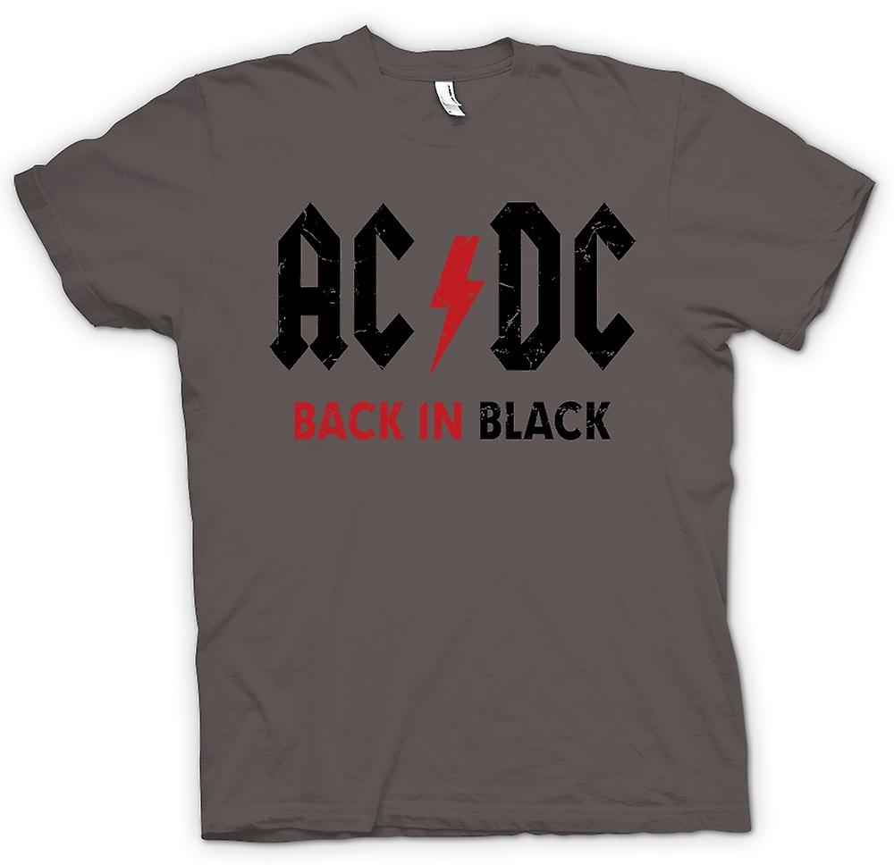 Womens T-shirt - AC/DC - Back In Black