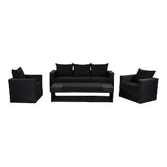 Outdoor Living Roma loungeset - zwart